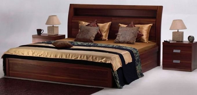 Best The Natural Finish Of The Aura Bed Set Adds The Warmth Of Wood To The Room Home Furniture By With Pictures