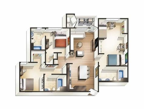 Best 2 Bedroom Apartments For Rent Near Me With Pictures
