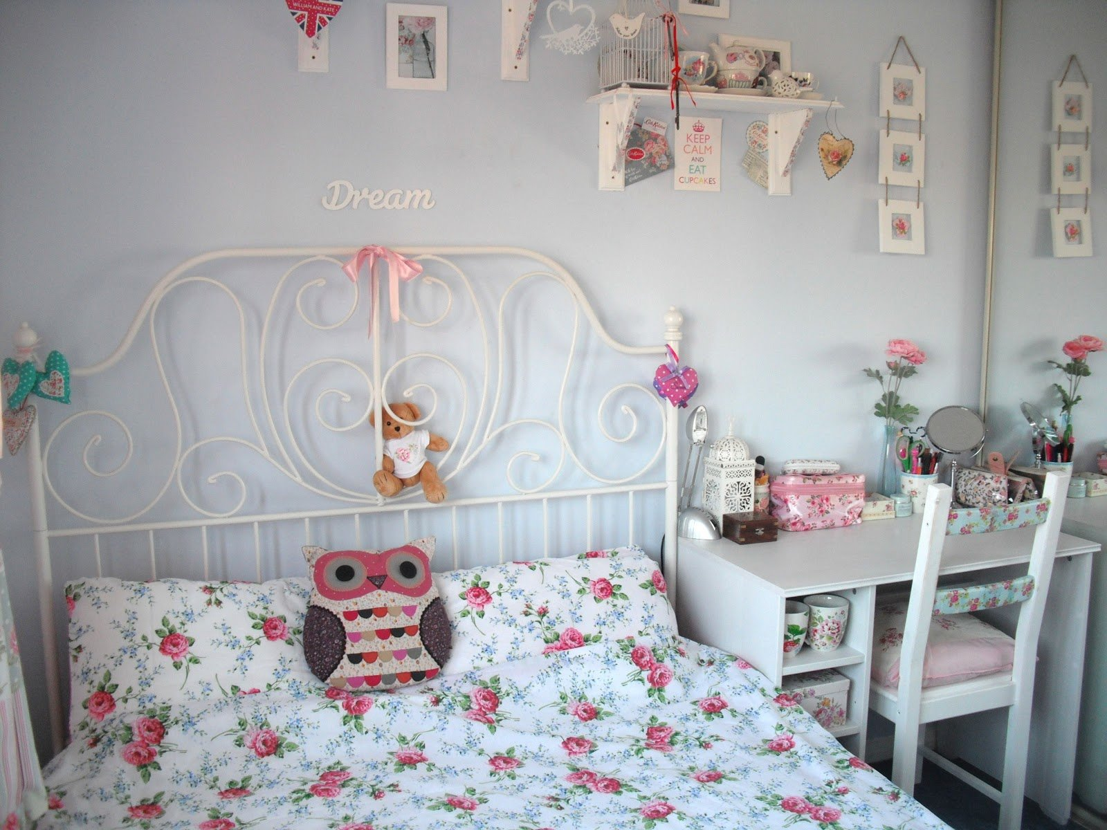 Best New Furniture And My Shabby Chic Bedroom Tour With Pictures