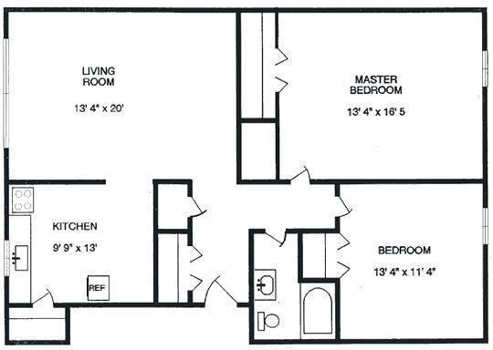 Best Average Size Of One Bedroom Apartment In Nyc Www With Pictures