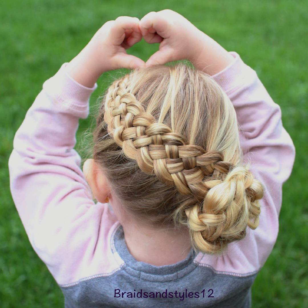 Free 40 Cool Hairstyles For Little Girls On Any Occasion Wallpaper
