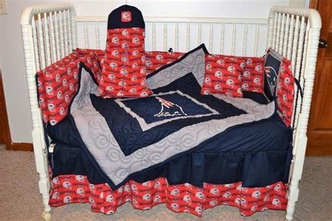 Best New England Patriots Crib Set True Fans Understand Why With Pictures