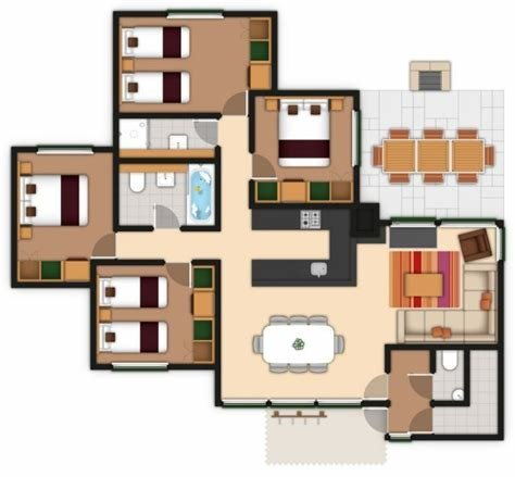 Best Center Parcs 3 Bedroom Woodland Lodge Layout With Pictures