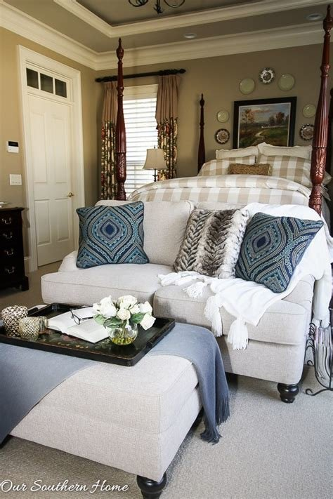 Best Loveseat For The Master Bedroom Our Southern Home With Pictures
