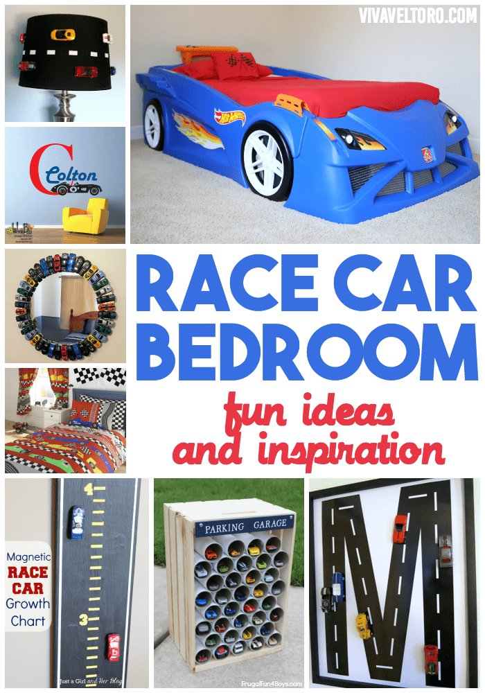 Best Race Car Bedroom Featuring The Step2 Hot Wheels Toddler To Twin Race Car Bed Viva Veltoro With Pictures