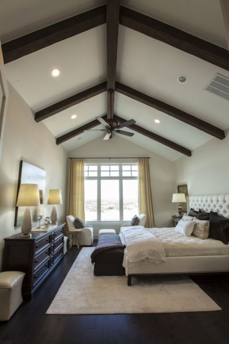 Best 30 Vaulted Ceiling Bedroom Design Ideas For Inspiration – Decorathing With Pictures