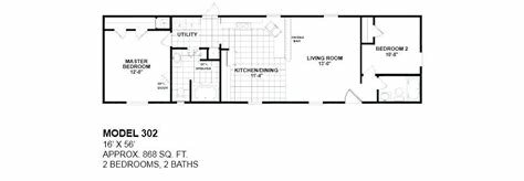 Best 2 Bedroom 1 Bath Single Wide Mobile Home Floor Plans With Pictures