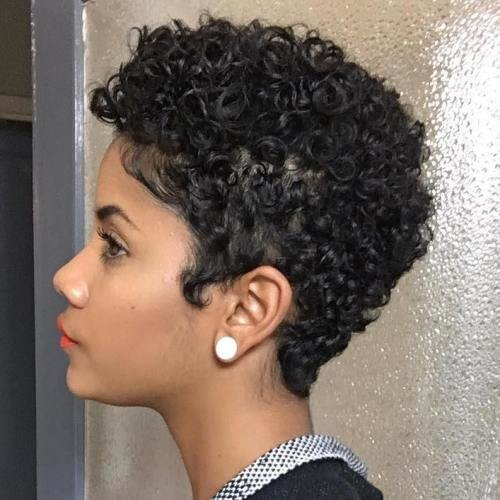 Free 75 Most Inspiring Natural Hairstyles For Short Hair In 2019 Wallpaper