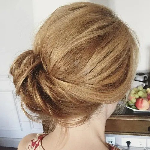 Free Side Updos That Are In Trend 40 Best Bun Hairstyles For 2019 Wallpaper