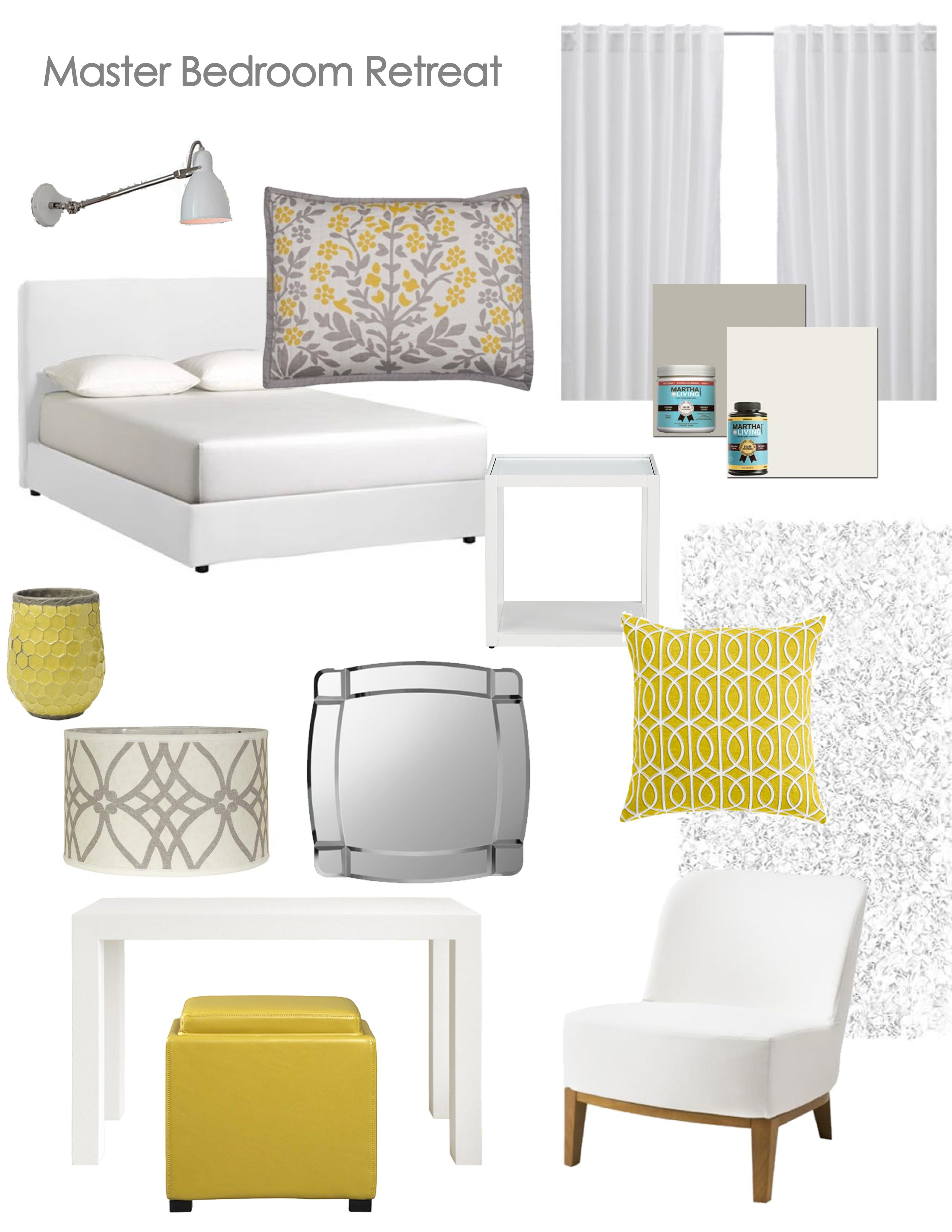 Best Grey Yellow Bedroom The Suburban Urbanist With Pictures