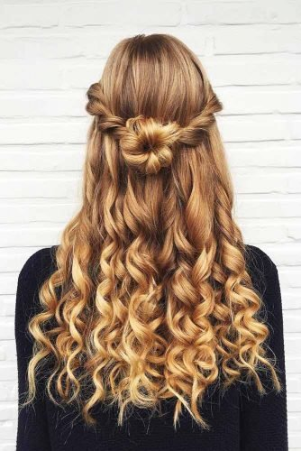 Free Try 42 Half Up Half Down Prom Hairstyles Lovehairstyles Com Wallpaper