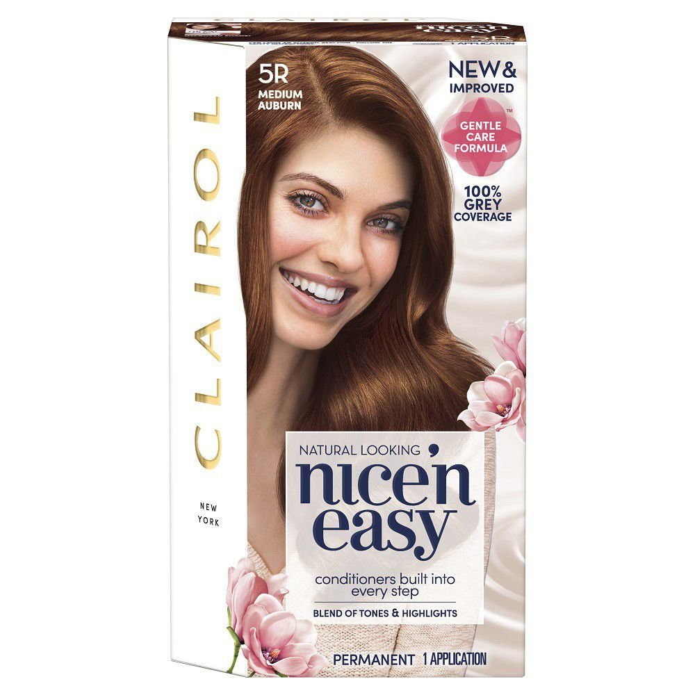 Free Clairol Nice N Easy Hair Dye Medium Auburn 5R Buy Wallpaper
