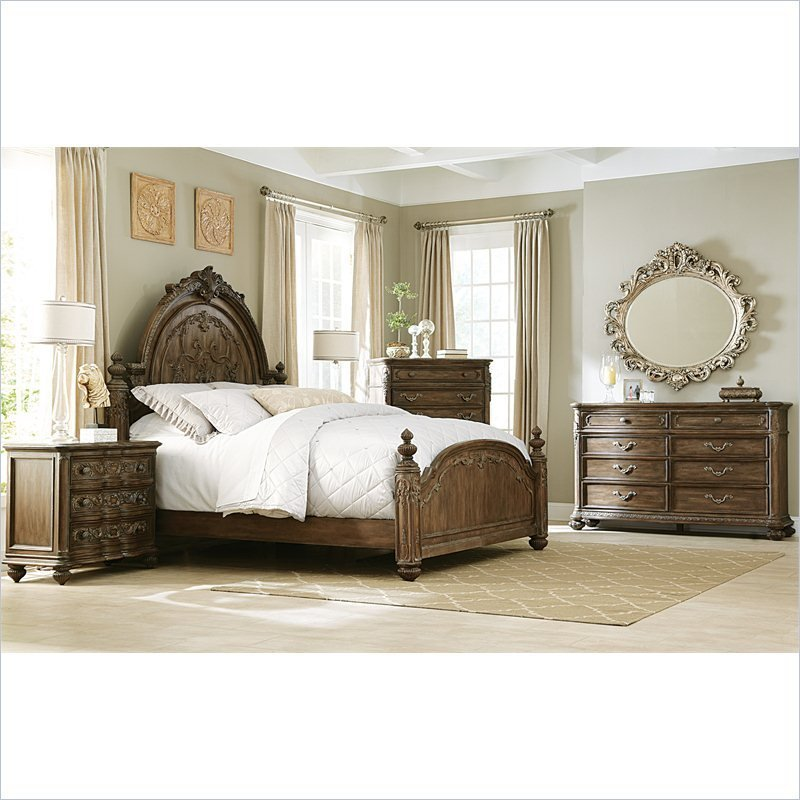 Best Jessica Mcclintock The Boutique 5 Piece Mansion Bedroom With Pictures