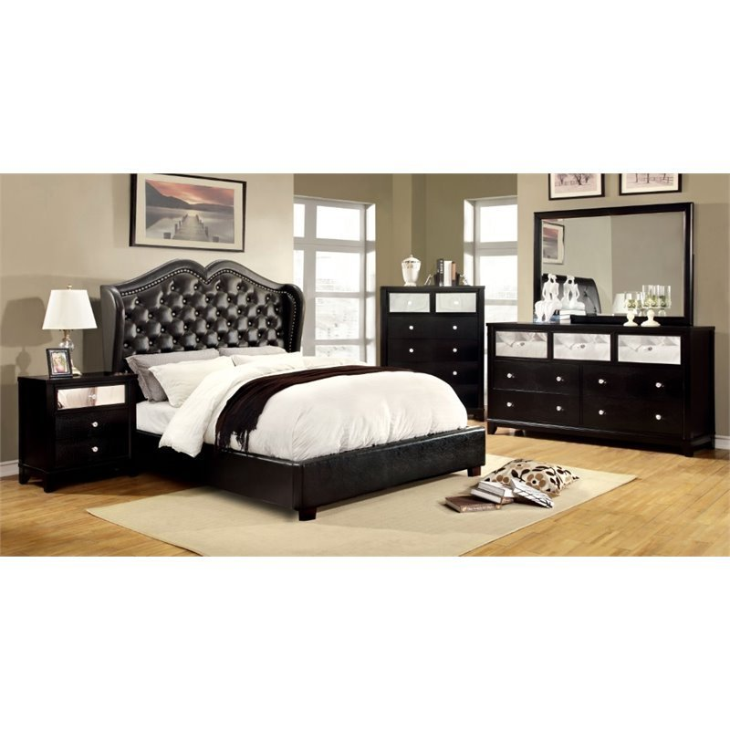 Best Furniture Of America Harla 4 Piece California King Bedroom Set 889435427909 Ebay With Pictures