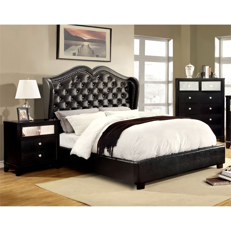Best Furniture Of America Harla 3 Piece King Bedroom Set In With Pictures