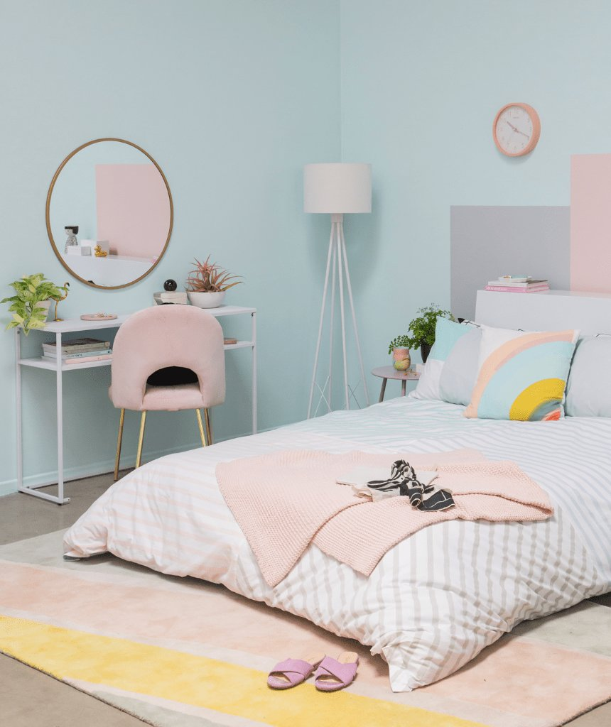 Best A Sophisticated Pastel Bedroom Oh Joy With Pictures