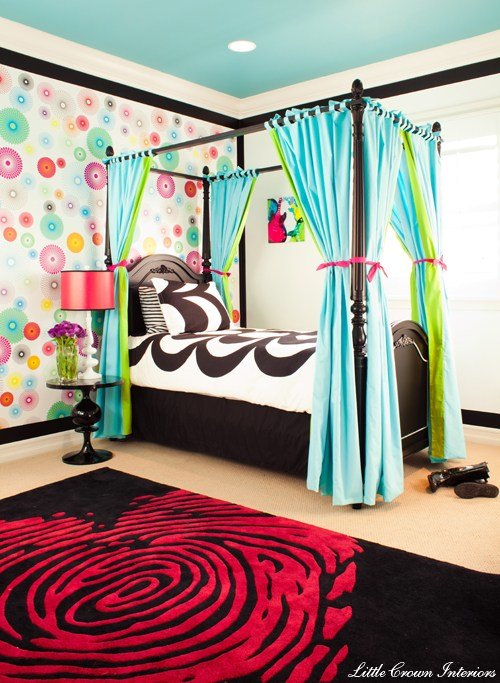 Best Crazy Colorful Girl S Bedroom Project Nursery With Pictures