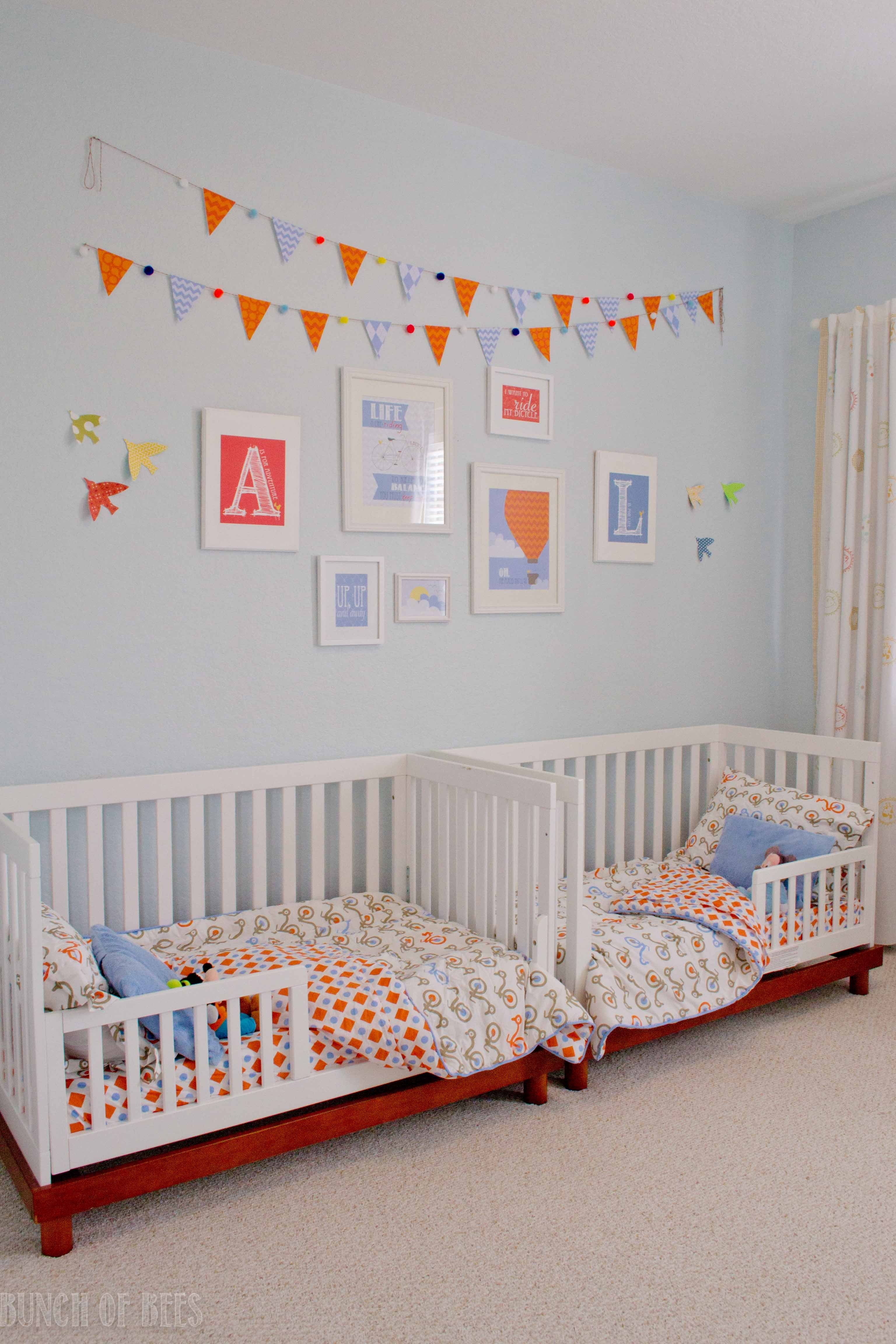 Best Twin Boys Toddler Room Project Nursery With Pictures