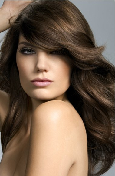 Free Long Hairstyle S*Xy And Elegant For Women's Hairstyle Trends Wallpaper