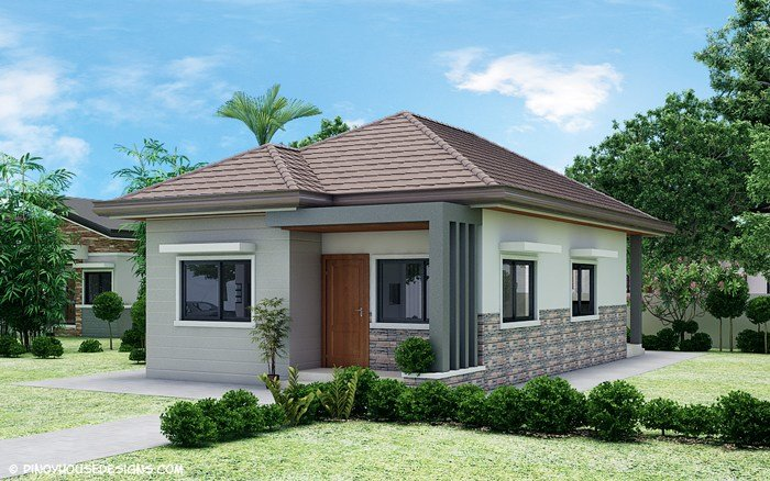 Best Simple 3 Bedroom Bungalow House Design Pinoy House With Pictures