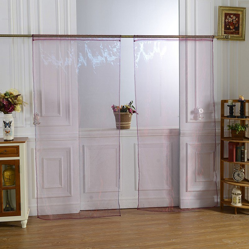 Best Sheer Curtain Window Curtains Scarves Bedroom Voile Drape Panel Sheer Curtains Ebay With Pictures