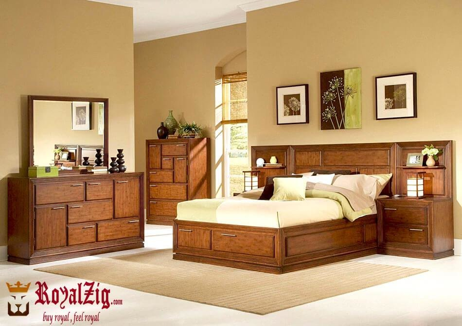 Best Modern Solid Wood Bedroom Set With Pictures