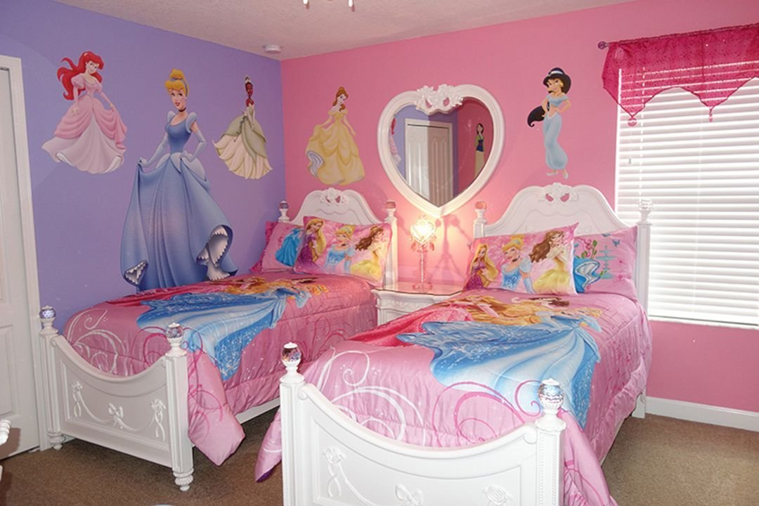 Best Disney Princess Themed Bedroom – 24 Spaces With Pictures