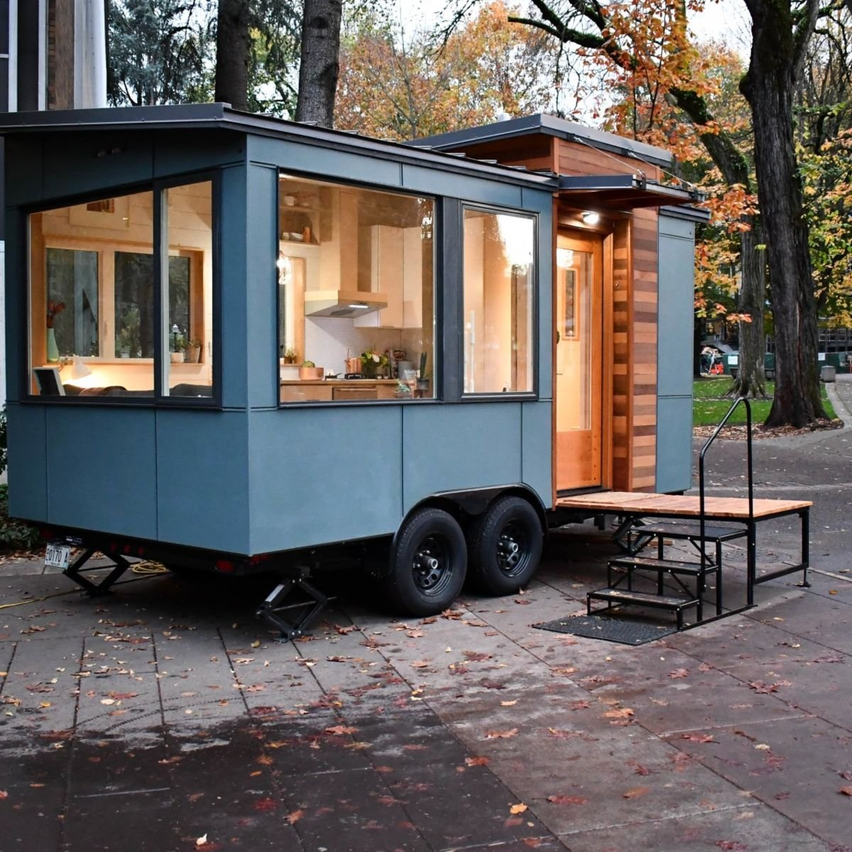 Best Small Modern Tiny House On Wheels Tiny House For Sale In With Pictures