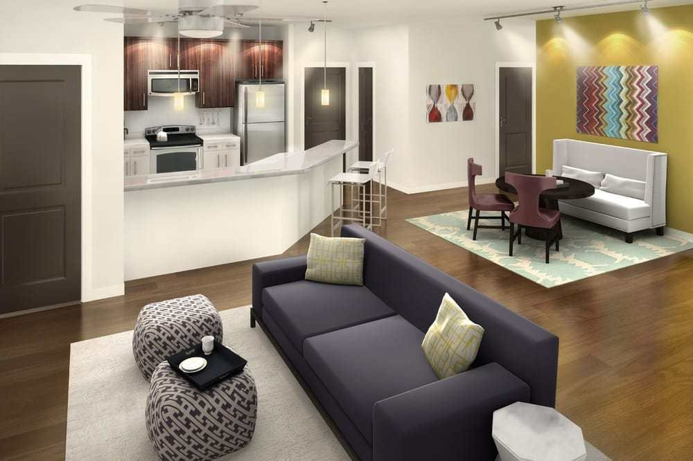 Best Steelhouse Orlando Apartments Now Leasing 1 2 Bedroom Apartment Homes In The North Quarter With Pictures