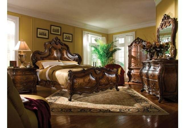 Best Aico Platine De Royale Bedroom Set Los Angeles Furniture With Pictures