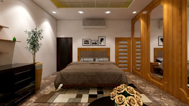 Best King Bedroom 3D Warehouse With Pictures