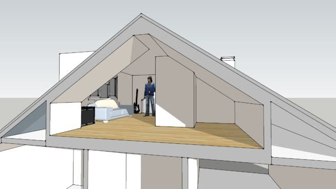 Best Loft Conversion To 3 Bedroom House 3D Warehouse With Pictures