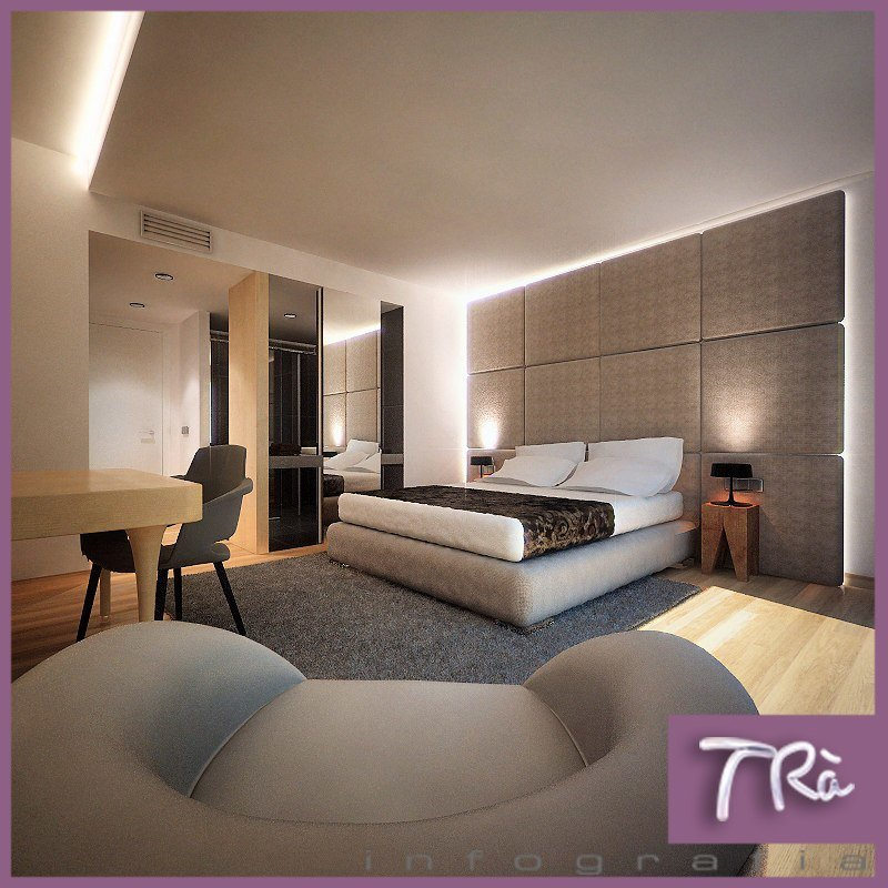 Best Hotel Bedroom Interior 3D Max With Pictures