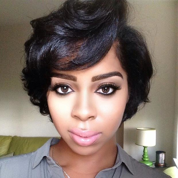 Free 50 Short Hairstyles For Black Women Stayglam Wallpaper
