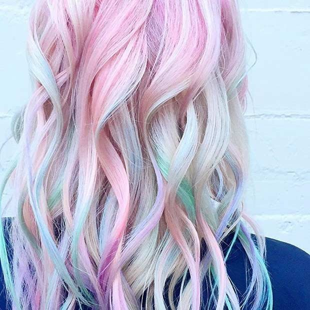 Free 21 Pastel Hair Color Ideas For 2018 – Stayglam Page 2 Wallpaper