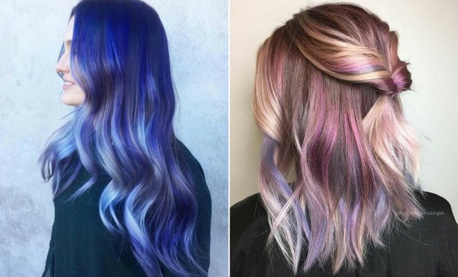 Free 23 Unique Hair Color Ideas For 2018 Stayglam Wallpaper