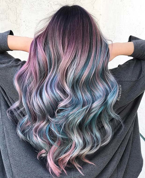 Free 23 Unique Hair Color Ideas For 2018 – Stayglam Page 2 Wallpaper