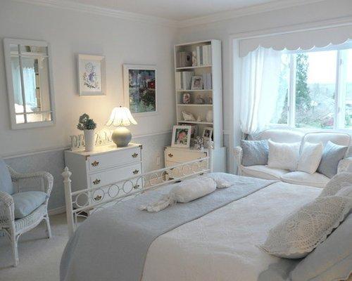 Best Blue And White Bedroom Houzz With Pictures