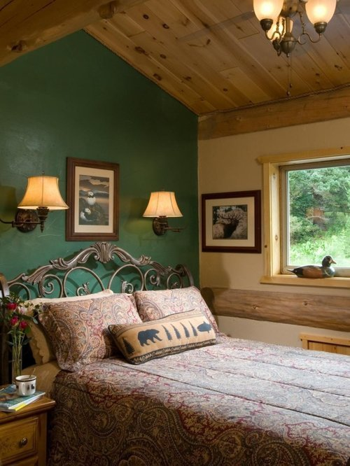 Best Green Accent Wall Houzz With Pictures