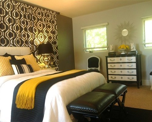 Best Grey And Gold Bedroom Houzz With Pictures