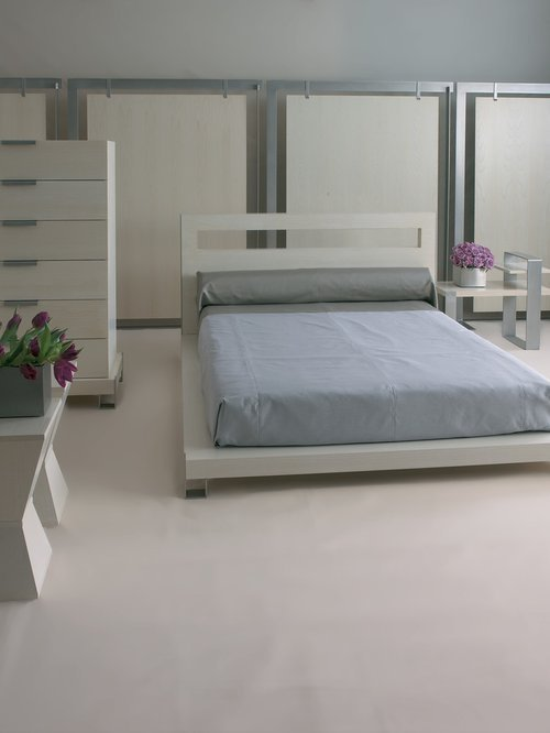 Best Grey Bedroom Design Ideas Renovations Photos With Lino With Pictures
