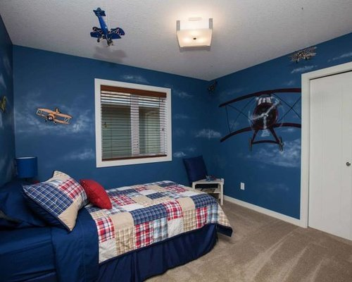 Best Rustic Blue Bedroom Design Ideas Remodels Photos Houzz With Pictures