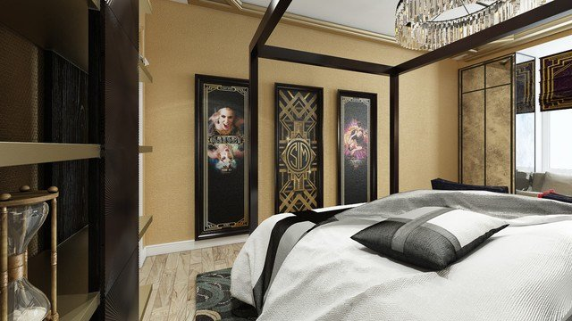Best Great Gatsby Inspired Bedroom With Pictures