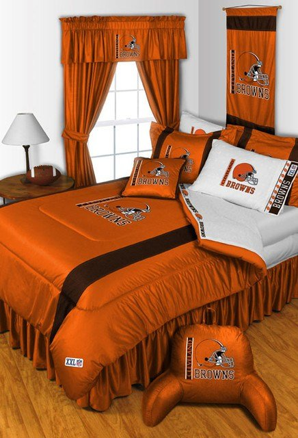 Best Nfl Cleveland Browns Bedding And Room Decorations Modern With Pictures