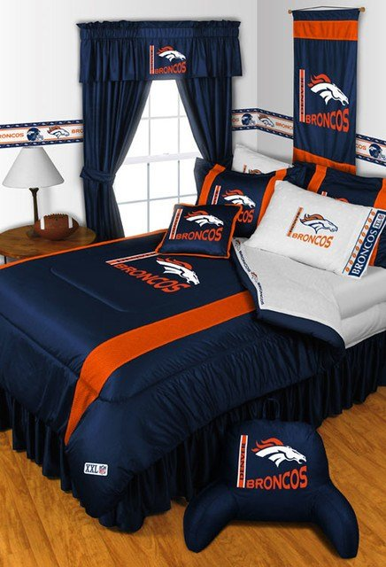 Best Nfl Denver Broncos Bedding And Room Decorations Modern With Pictures