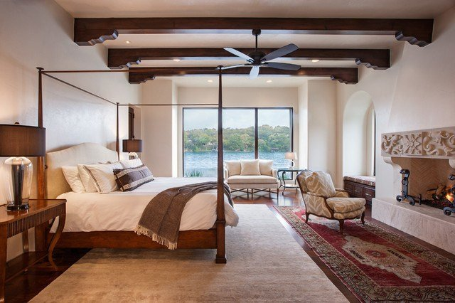 Best Lakeside Spanish Colonial Mediterranean Bedroom With Pictures