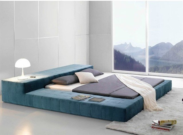 Best Opaq Contemporary Bed Frame Modern Bedroom Furniture With Pictures