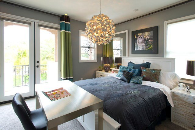 Best Robeson Design Hip Girls Bedroom Contemporary Kids With Pictures