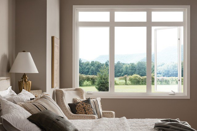 Best Bedroom With Style Line Vinyl Casement Windows By Milgard With Pictures