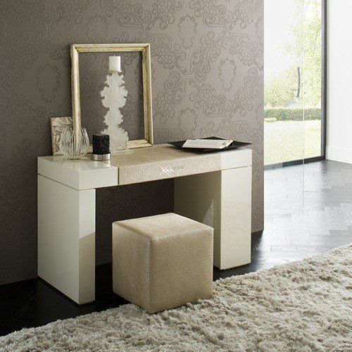Best Rossetto Furniture Diamond Ivory Dressing Table With Pictures
